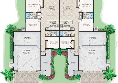 Chianti Classico Duplex Floor Plan Florida