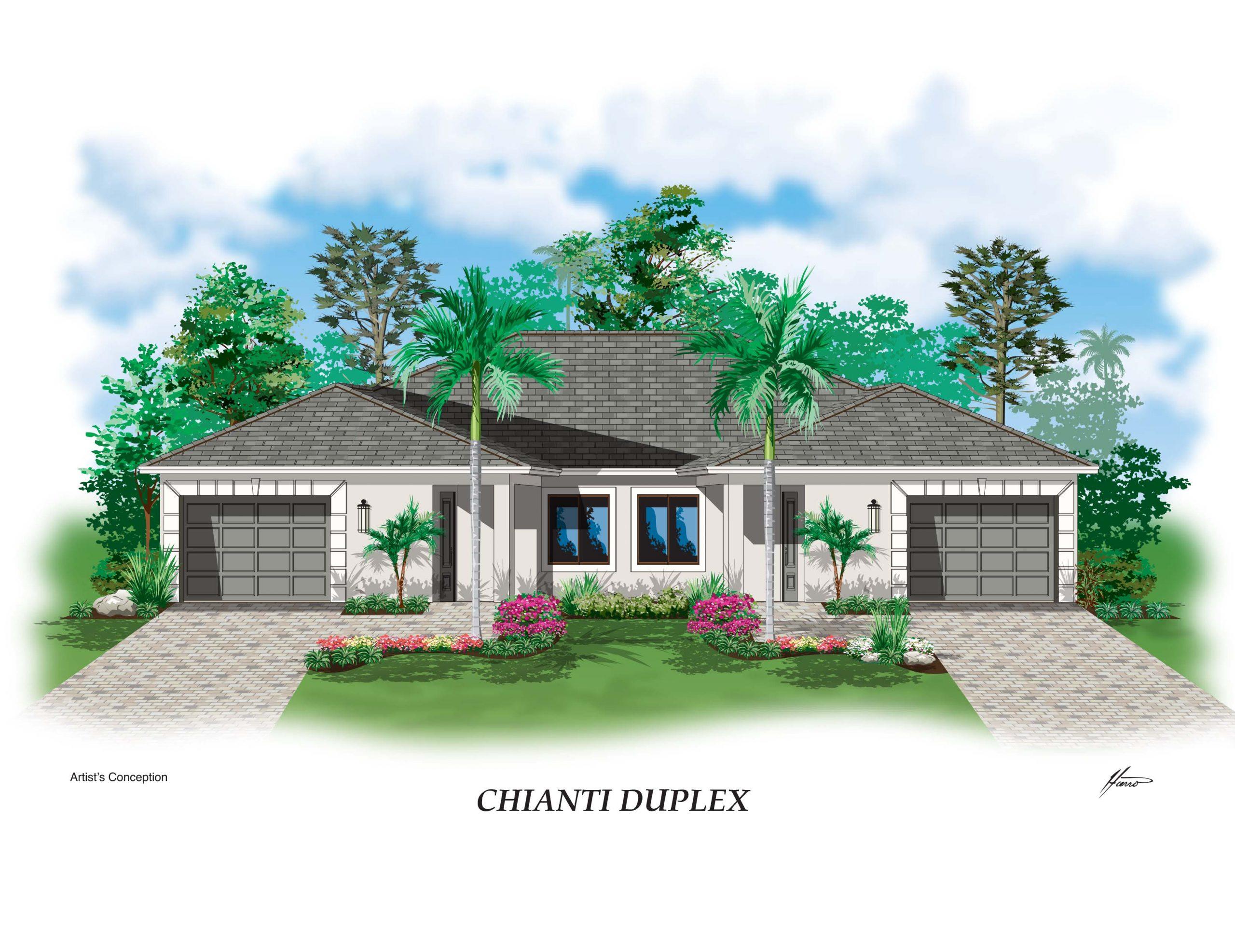 Chianti Duplex Elev Florida